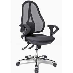 [Officecentre.de] Bürostuhl/Drehstuhl Topstar Open Point SY Deluxe Mesh Schwarz