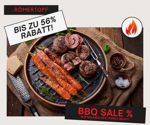 Römertopf BBQ Sale - Plancha und Grillschale