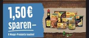 ( Maggi Coupon ) 8 Produkte kaufen, 1,50€ Rabatt bekommen