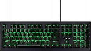 ASUS GK1100 Gaming Tastatur Keyboard, RGB Beleuchtung, Schwarz QWERTZ @bit-electronix