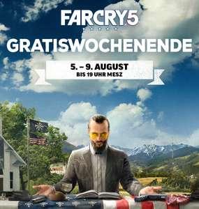 Far Cry 5 (PS4, Epic, Stadia, Xbox One & Uplay) kostenlos spielen vom 05.August bis zum 09.August (PSN Store)