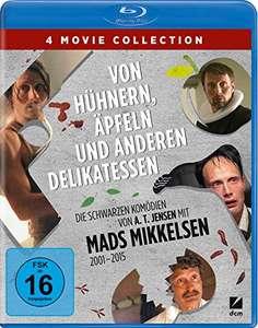 Von Hühnern, Äpfeln und anderen Delikatessen - Die schwarzen Komödien von A.T. Jensen mit Mads Mikkelsen (Blu-ray) für 14,97€ (Amazon Prime)
