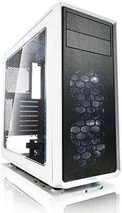 Fractal Design Focus G White Window, PC Gehäuse (Midi Tower mit seitlichem Fenster) Case Modding für (High End) Gaming PC, weiß [Amazon]