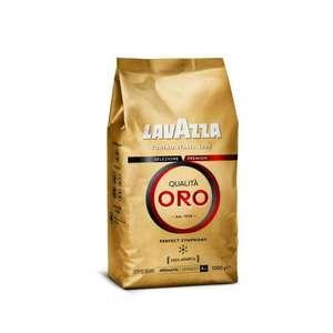 Lavazza Promo-Aktion & kostenlose Lieferung ab 20€: z.B. 2x 1kg Qualità Oro für 20,38€ (10,19€/kg, 100% Arabica, ganze Kaffeebohnen)