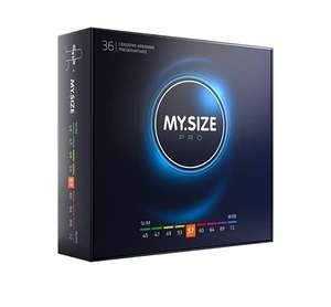 MY.SIZE PRO Kondome | 36 Stück mit 40% Gutscheinaktion | alle Größen | Amazon