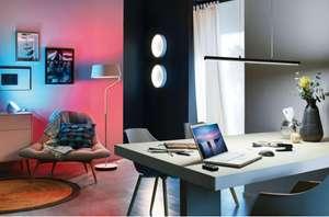 Paulmann Belaja LED Stehleuchte mit Bluetooth / Farblichtsteuerung Weiss/Chrom matt ( Bluetooth 4.0, 1,5m hoch, Farblichtsteuerung via App )