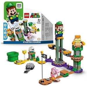 LEGO Super Mario Abenteuer mit Luigi – Starterset, Spielzeug mit Einer interaktiven Figur, modulares Set (LEGO 71387)