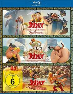 Asterix & Obelix - Die neuen Abenteuer Blu-ray 3er-Box, 250 min. Laufzeit [Amazon Prime]
