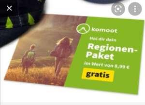 Komoot Regionspaket gratis für neue TK-Fit Mitglieder