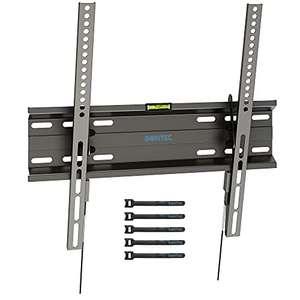 BONTEC TV Wandhalterung Neigbare Ultraslim für 23-55 Zoll/45kg