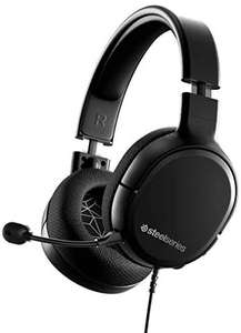 SteelSeries Arctis 1 Wired Gaming Headset – Detachable Clearcast Microphone – Lightweight Steel-Reinforced [Amazon]