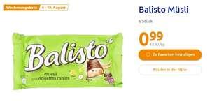 [Action ab 04.08] Balisto Riegel- Müsli in der 6 Stück Packung für 0,99€