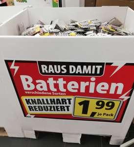 Energizer Max oder Alkaline Power 8er oder 12er Pack AA oder AAA Batterien oder ACCU Recharge 4er für nur 1,99€ bei Thomas Philipps (LOKAL?)