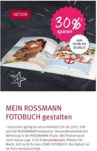 -30% auf mein Rossmann Fotobücher