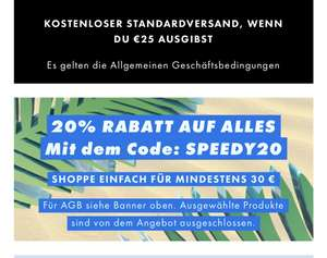 20% Rabatt bei ASOS ab 30€ MBW