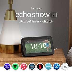 Der neue Echo Show 5 (2. Generation, 2021) Smart Display für 54,99€ - [Amazon, Cyberport, NBB]