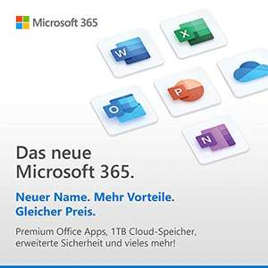 Microsoft 365 Business Standard |1 Nutzer, 5 PCs/Macs, 5 Tablets und 5 mobile Geräte | 1 Jahresabonnement | Box