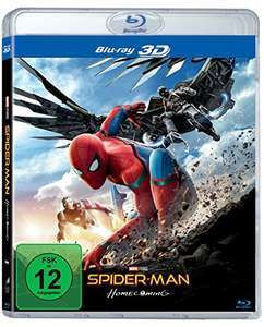 Spider-Man Homecoming (3D Blu-ray + Blu-ray) für 5,99€ (JPC)