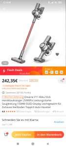 Dreame V11 Display-Akkusauger für 185,71€ aus EU