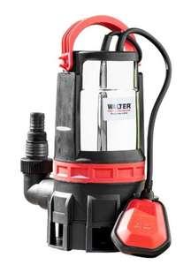 Walter 2in1 Schmutz- und Klarwasserpumpe 750 W, max. 16500 l/h