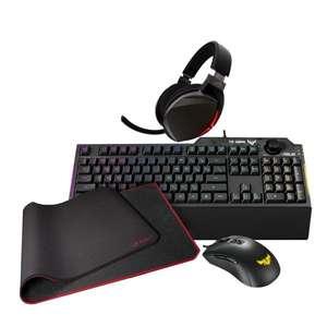 ASUS TUF Gaming K1 + TUF Gaming M3 + ROG Strix Fusion 300 + ROG GM50 Bundle