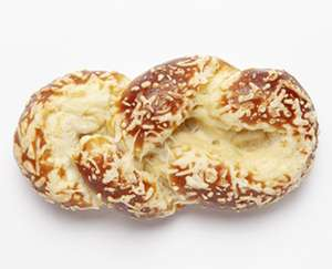 """ALDI Süd: ab Montag 09.08.21 gibt's Laugenzopf mit Käse zu wirklich """"schmackhaftem"""" Preis, je Stück in der BackwarenZone, ca. 90 Gramm"""