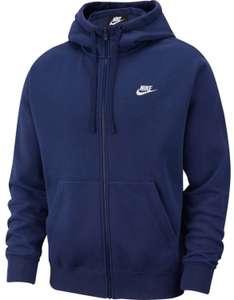 Nike Sportswear Club Fleece Kapuzenjacke für Herren in dunkelblau (Gr. S - L)
