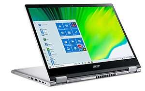 "689/674€ mit Cashback: Acer Spin 3 SP313 Convertible 16:10 13.3"" WUXGA IPS 400nits 100% sRGB Touch i5-1135G7 16GB, 512GB, 2x TB4, Alu, 1.4kg"