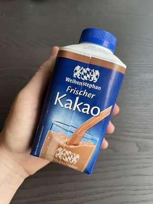Freebie [Rewe] [Payback] Weihenstephan Frischer Kakao 0,5l (personalisiert)