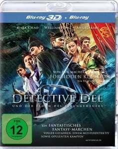 Detective Dee und der Fluch des Seeungeheuers 3D (Blu-ray 3D + Blu-ray) für 4,79€ (Amazon Prime & Media Markt)