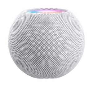 Apple HomePod Mini weiß (WLAN, Bluetooth 5.0, AirPlay 2, Internetradio & Streaming, Siri, 98x84x98mm, 345g)