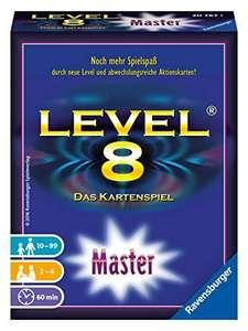 Level 8 Master, Kartenspiel, Gesellschaftsspiel für 2-6 Spieler für 6,01€ (Amazon Prime)