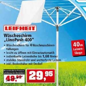 """LEIFHEIT """"LinoPusch 400"""" Wäschespinne"""