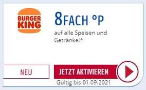 [BurgerKing] 8fach Payback Punkte auf alle Speisen und Getränke (personalisiert)
