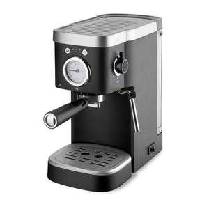 Aldi Süd: ab 16.08.21 Ambiano Espressomaschine mit 1100Watt,Fassungsvermögen 1,15Liter,abnehmbarer Wassertank,Abtropfschale mit Signal,