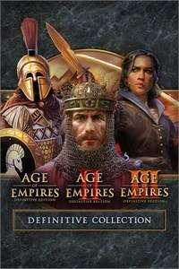 Age of Empires Definitive Collection : AOE I + AOE II + AOE III (PC - Steam)