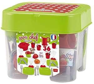 Ecoiffier - 32tlg. Spielgeschirr für Kinder inkl. Aufbewahrungsbox für 8,10€ (Amazon Prime)