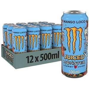 12x Monster Energy Mango Loco (+3,00€ Pfand) - Amazon Sparabo inkl. Versand