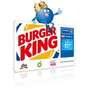 [Payback Burger King] 10fach Payback Punkte bei Burger King auf alle Speisen und Getränke