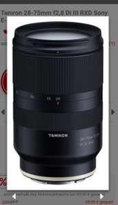 Tamron 28-75mm f2.8 Di III RXD Sony E-Mount