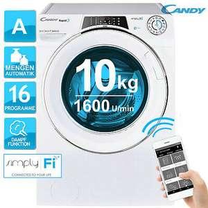 Candy Waschmaschine RO16106DWMCE/1-S 1600 U/min. 10kg Fassungsvermögen Dampffunktion Mengenautomatik Wifi