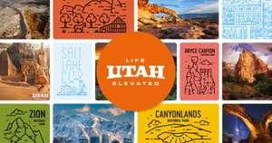 Gratis Postkarten MyPostcard und Visit Utah