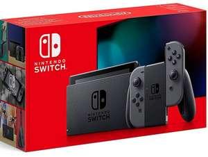 Nintendo Switch Konsole V2 grau o. blau/rot für 299€ inkl. Versandkosten