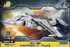 [bol.de] COBI 5809 - AV-8B Harrier II PLUS Klemmbausteine Bausatz 1: 48; 410 Teile