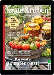 Digitales kraut & rüben Probe-Abo für 1 Monat - selbstkündigend - digitalmagazin.de