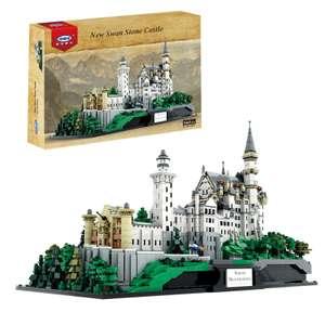 XINGBAO 05002 Schloss Neuschwanstein   Klemmbaustein Set mit 7.437 Teilen