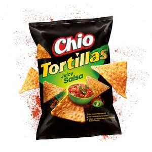 Rewe: Chio Tortillas in verschiedenen Sorten , 125 Gramm Beutel