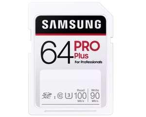 [MediaMarkt Abholung] SAMSUNG PRO Plus, SDXC Speicherkarte, 64 GB, 100 MB/s