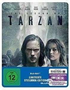Legend of Tarzan Limited Steelbook Edition (Blu-ray) für 4,25€ (Müller Abholung)