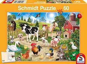 Schmidt Spiele Animal Club, Bauernhoftiere, 60 Teile Kinderpuzzle für 5,49€ (Amazon Prime)